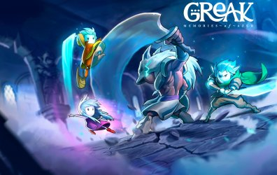 Greak: Memories of Azur - Primer contacto